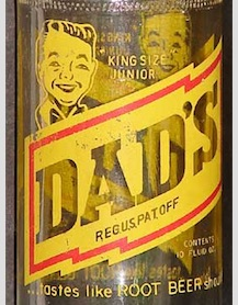 The Old (or new?) Dads Root Beer bottle