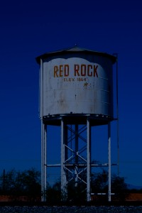 red rock water tower july 2013