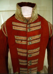 british enlisted coat war 1812 courtesy cape ann museum rob bibelhauser