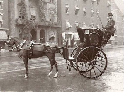 hansom cab courtesy getty images
