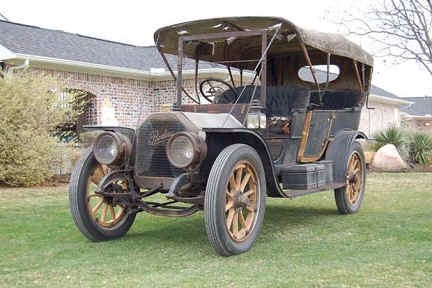 The Peerless Touring car