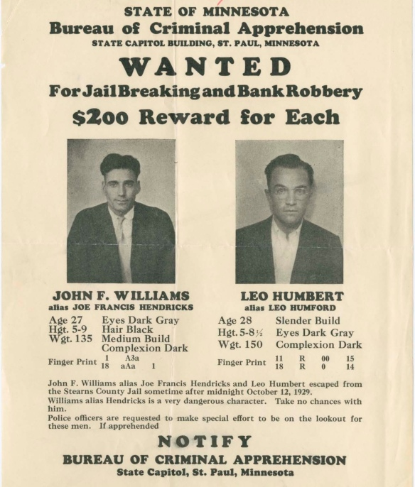 humbert and williams wanted poster