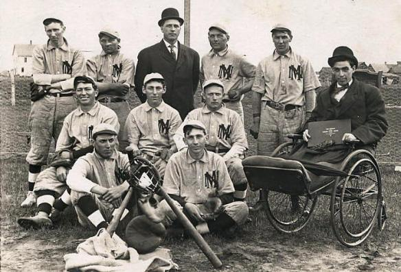 new munich baseball team 1910 courtesy lakesnwoods