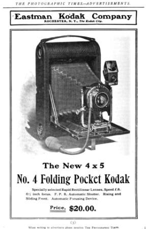 Kodak Folding Camera