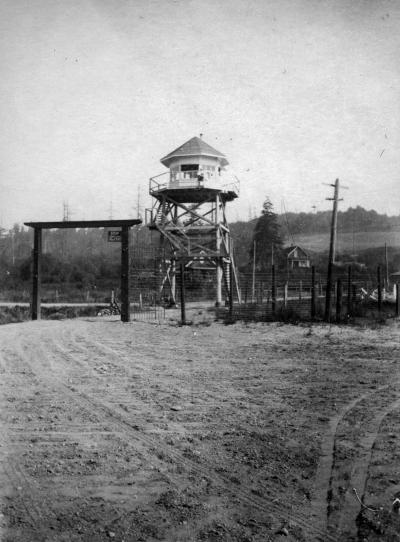 mcneil island guard tower 1920 1950 courtesy digitalarchives.wa.gov