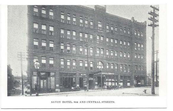 Savoy Hotel Kansas City MO