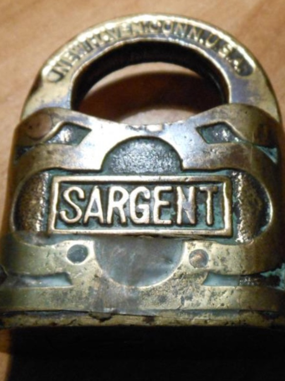 Sargent padlock