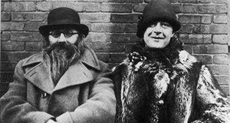 Izzy Einstein & Moe Smith in one of their famous disguises - they used them to catch unsuspecting violators of the Volstead Act during prohibition. They were both dismissed from the Bureau of Prohibition in 1925 even though they had racked up thousands of arrests with their methods.