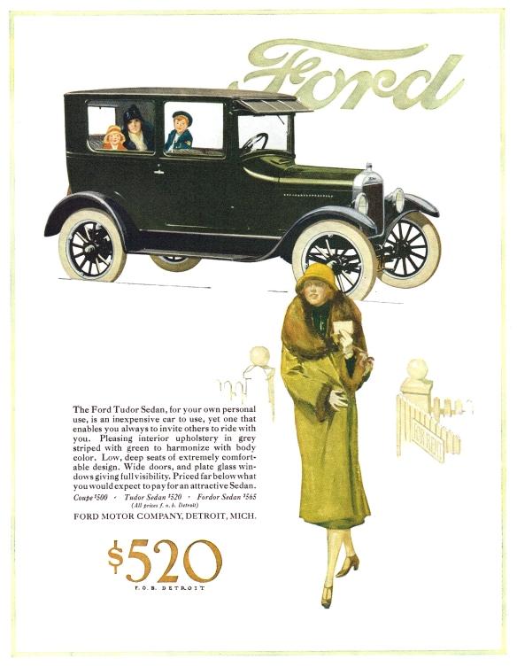 ford ad 1926 sedan