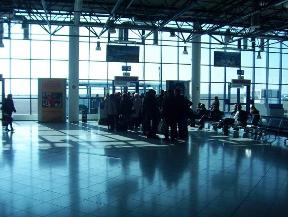 Airport in Chisinau Moldova