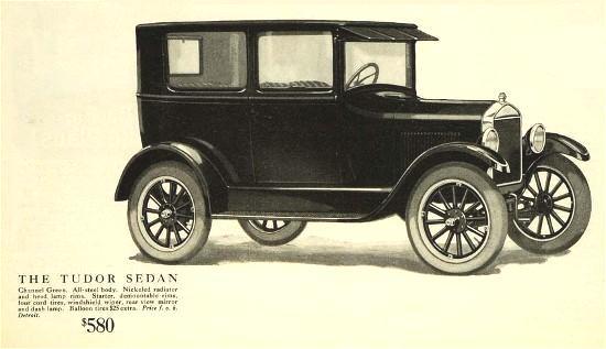 1926 Ford Tudor Sedan