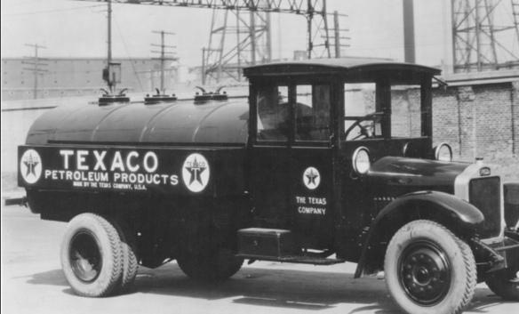 Texaco truck circa 1926