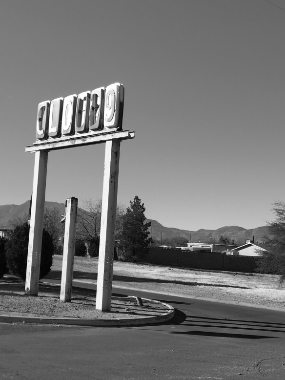 Cloud 9 Motel sign