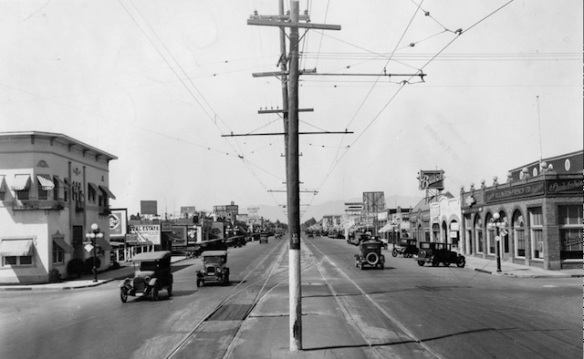 van nuys blvd 1926 courtesy ciclavalley.org