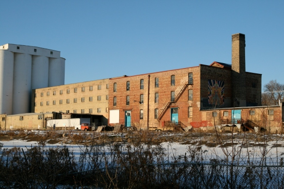Warehouse in Mill District Minneapolis MN