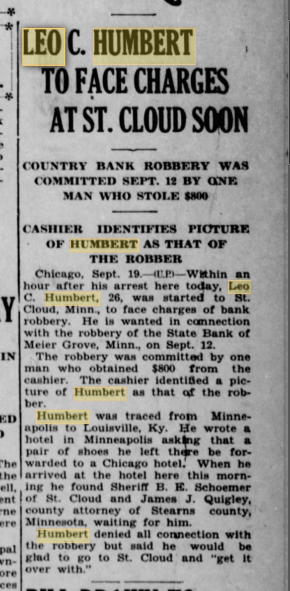 Brainerd Daily Dispatch 19 Sept 1929