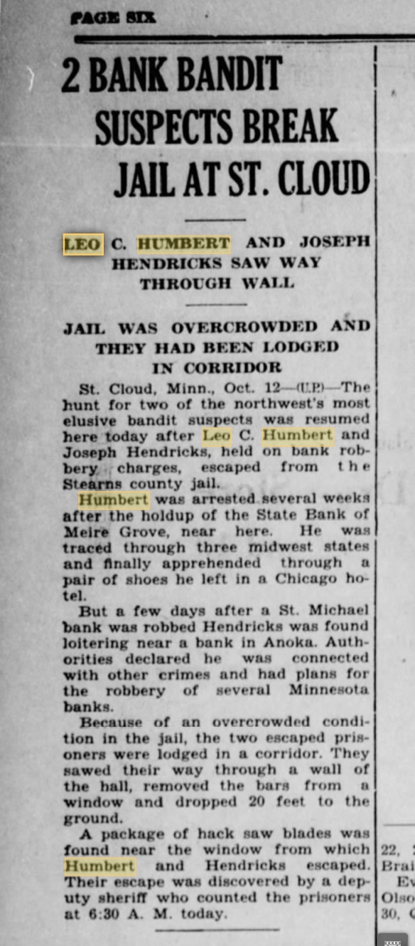 Brainerd Daily Dispatch 12 oct 1929