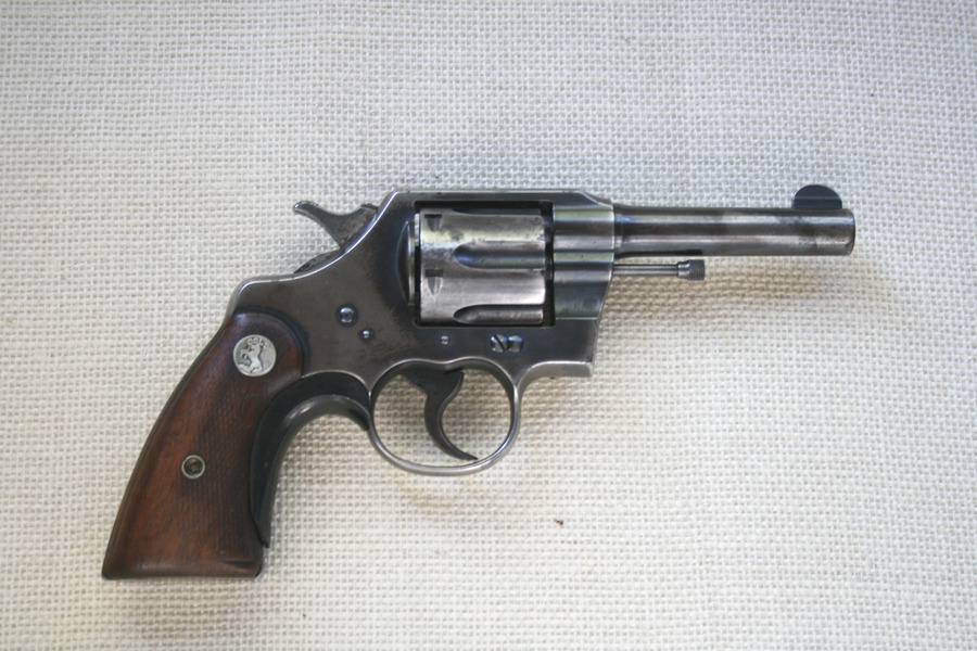 1929 Colt revolver