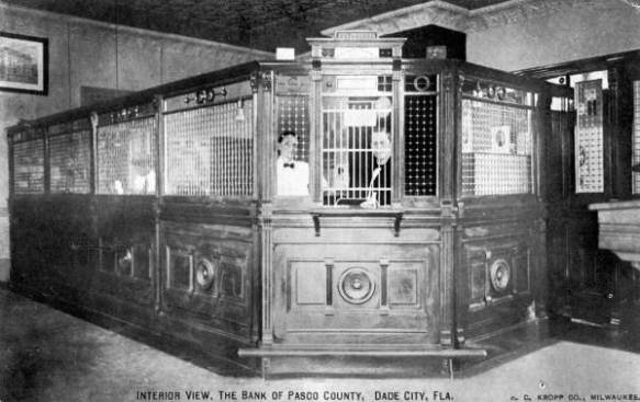 Bank Cashier Cage