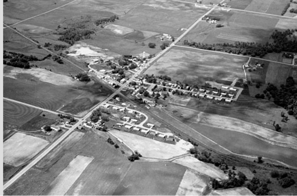 Loretto MN in 1960s courtesy MNHS